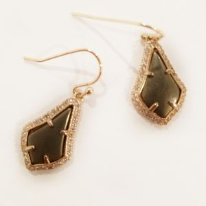 Kendra Scott Luxe Lexi with Pyrite Stone